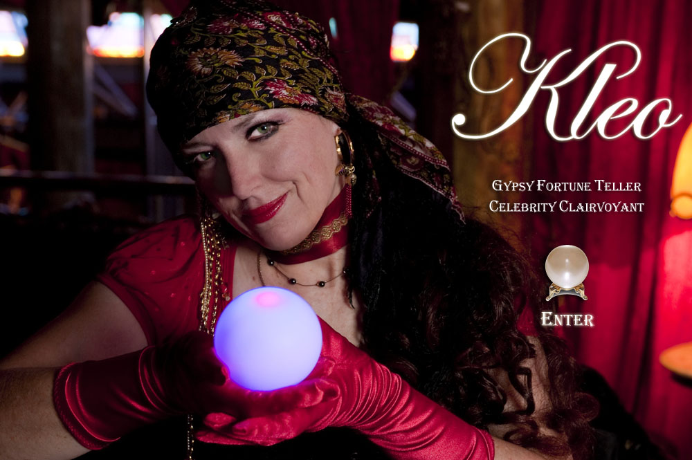 Kleo the Celebrity Gypsy Fortune Teller
